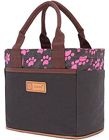 ec1b6602932f Canvas Bento Lunch Bag for Picnic School Office Tote Lunch Bag with Rope  Belt Stylish