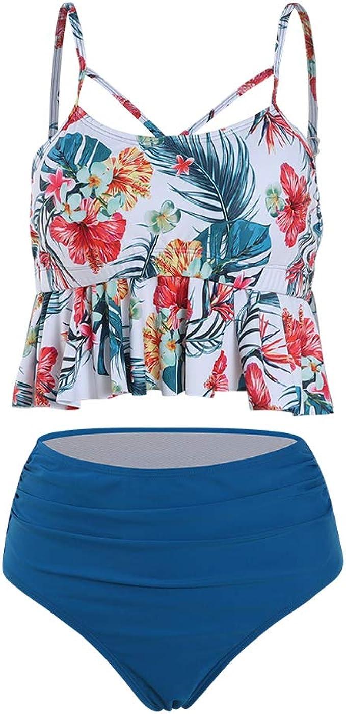 Viloree Rockabilly 50s Womens high Waisted Bikini Tankini Shorts Bottoms Tummy Control