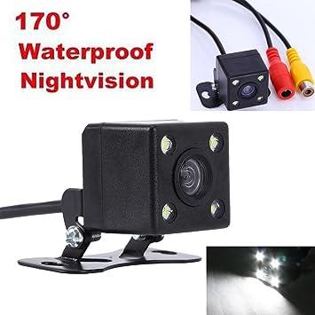 Waterproof LED Sensor Car Night Vision Rear View Reversing Backup HD Camera 170°