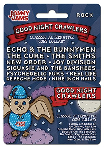 Jammy Jams - Good Night Crawlers: Classic Alternative Goes Lullaby - Download Card