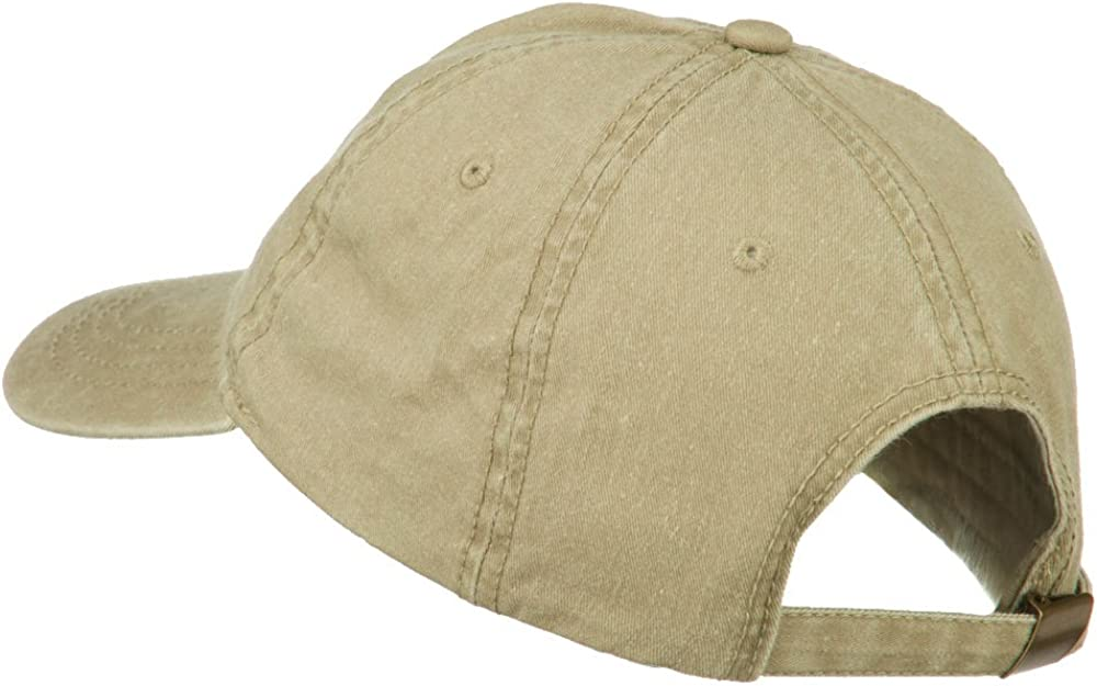 Oregon State Map Embroidered Washed Cotton Cap