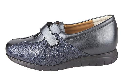 Ancho Especial para pies delicados. Capacidad para Plantillas ortopédicas. 00053: Amazon.es: Zapatos y complementos