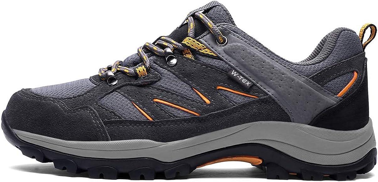 SILENTCARE Hiking Shoes Men Waterproof