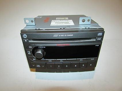 Amazon 04 06 Subaru Forester Radio CD Player 6 Disc Changer