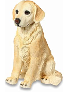 Golden Retriever Dog Ornament   Resin Garden Puppy Ornament