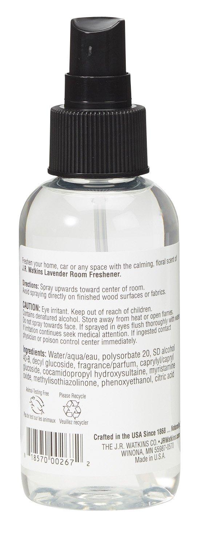 J.R. Watkins Naturally Derived Room Freshener, Lavender, 4 Ounce (Pack of 6) by J.R. Watkins (Image #2)