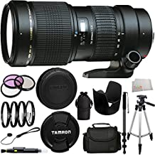 Tamron AF 70-200mm f/2.8 Di LD IF Macro Lens for Canon Digital SLR Cameras (Model A001E) + 13PC Accessory Kit.
