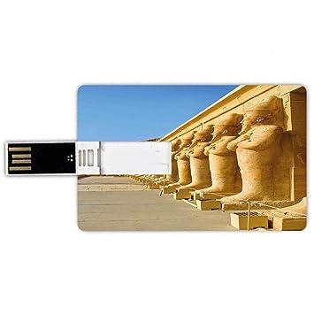 8GB Forma de tarjeta de crédito de unidades flash USB Pilar Estilo ...