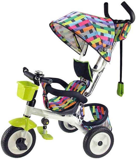 YUMEIGE triciclos Triciclo de niños Pedal de niños Bicicleta Carro ...
