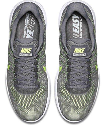 Cool Lunarglide Chaussures Volt Grey Nike Compétition Homme 8 de Noir anthracite Running Gris 1wxZxzFfq