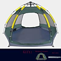 ZYN Tent Outdoor 3-4 People Automatic Thicken Rainproof Camping Field Camping Tent