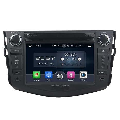 NFS 2 DIN 7 Pulgadas Coche Estéreo con GPS Navegación Android 6.0 OS para Toyota RAV4