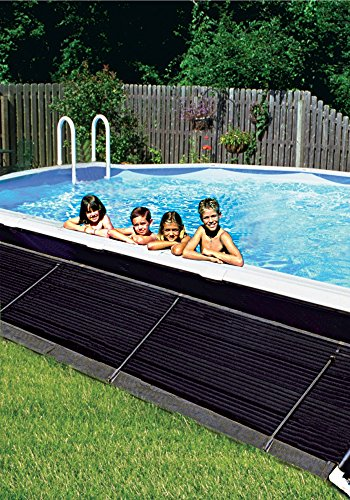SUNHEATER 2' X 10' Solar Heating Universal - Solar Pool System Pump