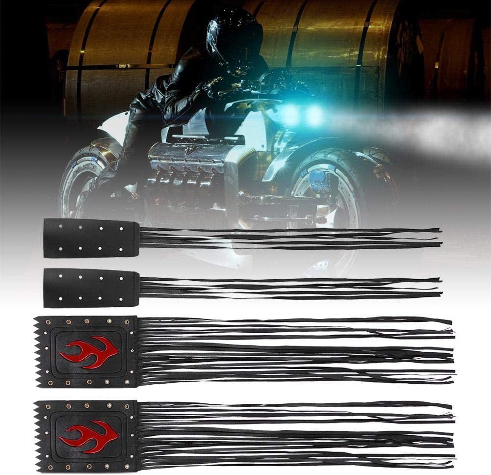 Universelle 2pcs moto guidon gland frange poign/ée couvercle levier couverture Qiilu Moto Kits guidon