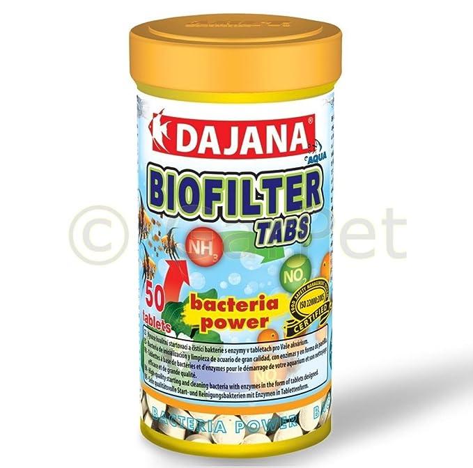 dajana biofiltros bacterias Tabs bio filtro biológico activo ...