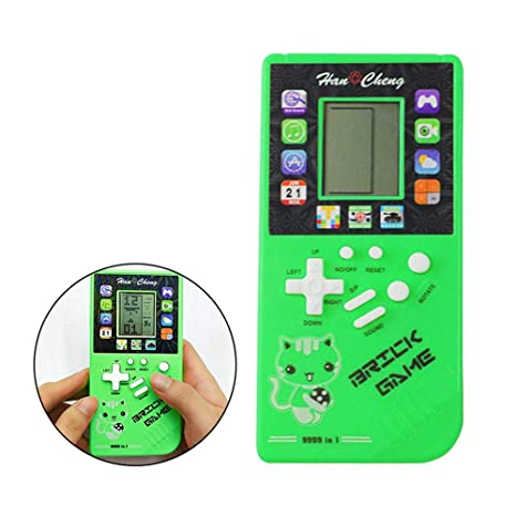 LAYOPO Retro Handheld Game Console, Built-in 26 Games Toy Big Screen Intellectual Game Console for Tetris Handheld Game Racing, Portable Classic Video Games for Gathering Party Camping Christmas