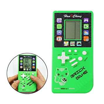 Layopo Retro Handheld Game Console Built In 26 Games Toy Big Screen Intellectual Game Console For Tetris Handheld Game Racing Portable Classic Video Games For Gathering Party Camping Christmas Amazon In Home Kitchen