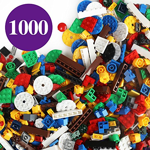 Children Building Bricks 1000Pcs Military Toys Building Blocks Colorful Plastic Puzzle