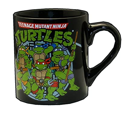 Teenage Mutant Ninja Turtles Taza de café 14 oz. De Las ...