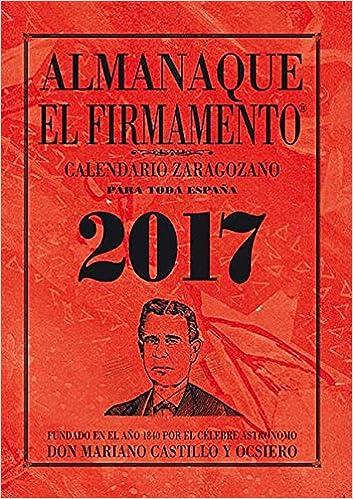 almanaque el firmamento 2017 mariano castillo y ocsiero