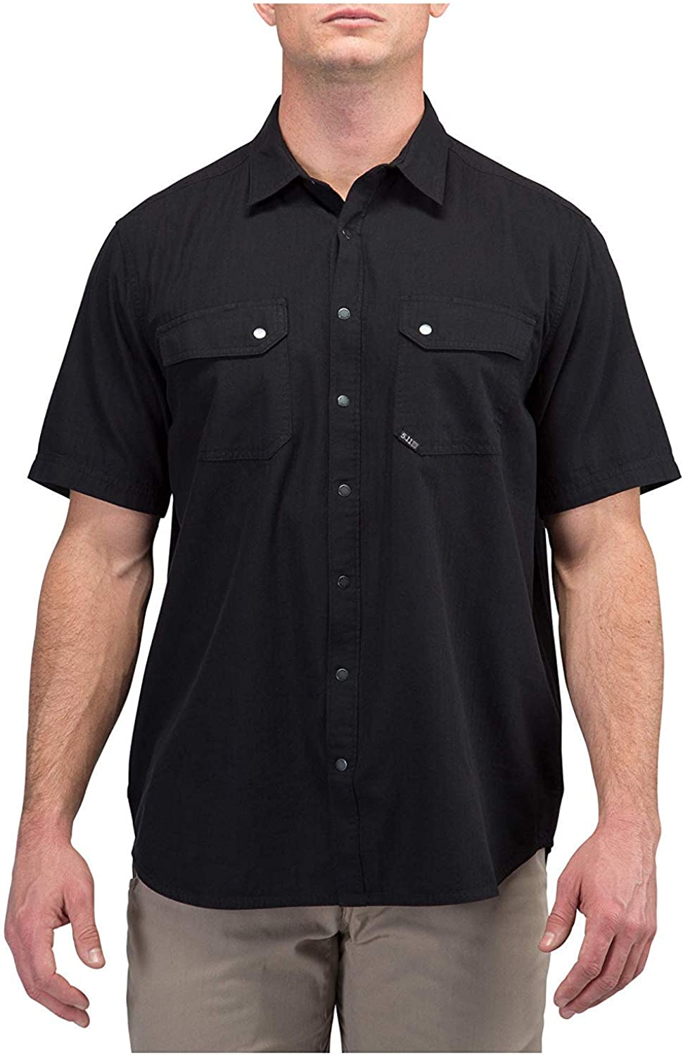 Style 71375 5.11 Tactical Mens Cotton Fabric Herringbone Short Sleeve Shirt