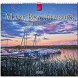 MARK BRANDENBURG - Märkisches Licht: Original Stürtz-Kalender 2018 - Mittelformat-Kalender 33 x 31 cm