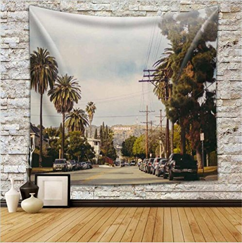 8' Wool Purse (Creative Tapestry, European And American Personalized Print Tapestry, Road Pattern Tapestry, Wall Decoration, Beach Towel Cushion , D , 150130)