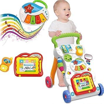 Homgrace Andador Primeros, Correpasillos Bebé De Equilibrio Cochecito Actividades