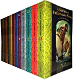 A Series of Unfortunate Events Collection 13 Books Set Pack RRP£71.88 Bad Beginning, Reptile Room, Wide Window, Miserable Mill, Austere Academy, Ersatz Elevator, Vile Village, Hostile Hospital, Carnivorous Carnival,Slippery Slope,Grim Grotto,The End (A Series of Unfortunate Events)