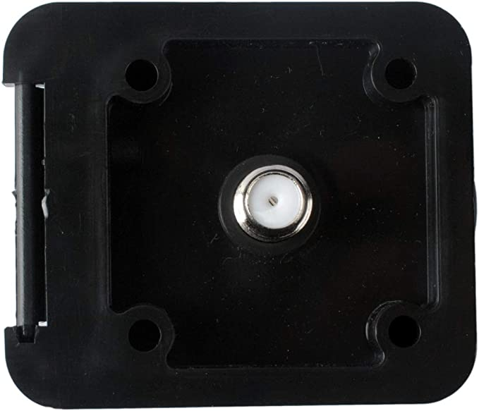 Furrion FTVINB-PS White Non-Metallic Square RV TV Inlet Miniature
