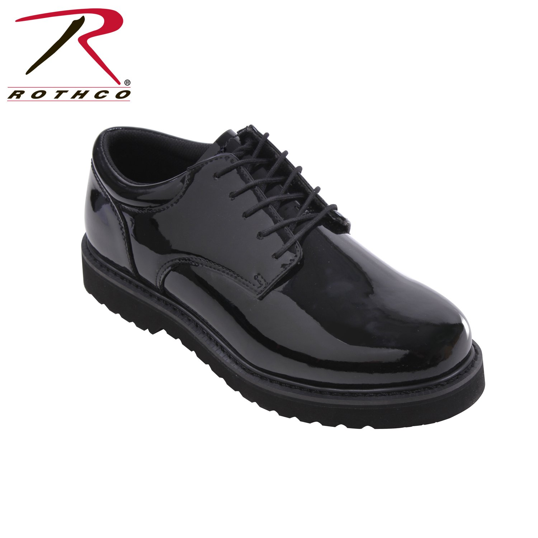 Rothco Uniform Oxford/Work Sole, Black, 12