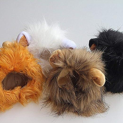 Pelucas de león para Disfraz de Animal, Bufanda de Pelo de Melena ...