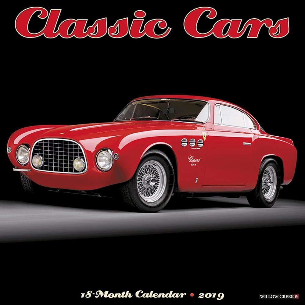 Classic Cars 2019 Wall Calendar