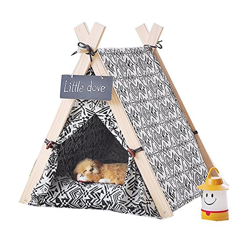 little dove Wooden Triangle Kennels