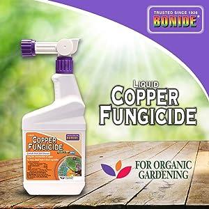 Bonide 813 Fungicide, 1 pt, Clear