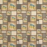 Vintage Ukrainian Flag - Ukraine Kraft Present Gift Wrap Wrapping Paper