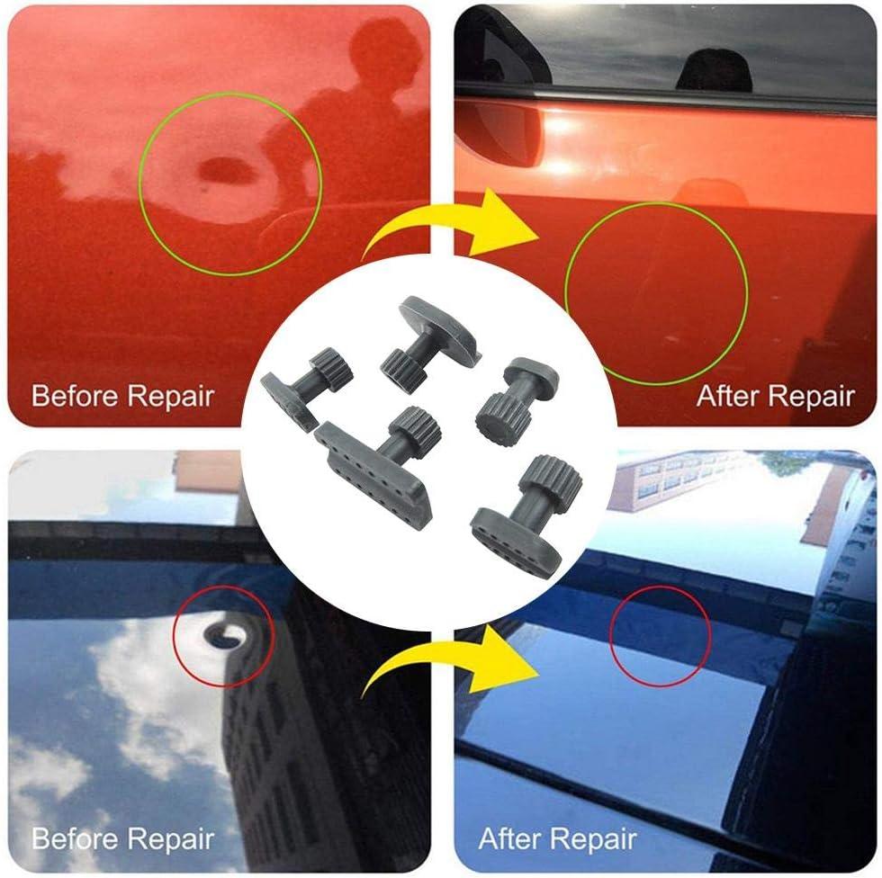 Joint de dent enfonc/és extracteur Joint en Plastique Joints de r/éparation de t/ôle dautomobile 10pcs Extracteur de Peinture sans Peinture Marteau Ventouse Embout
