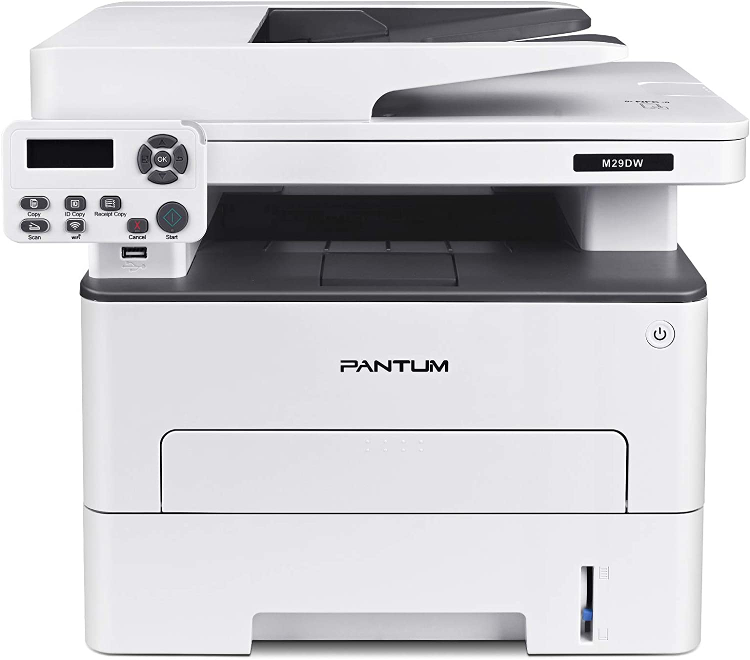 All-in-one Laser Printer with Scanner Copier, Wireless&Auto Two-Sided Printing, Print at 35PPM, Pantum M29DW(V3T76A)