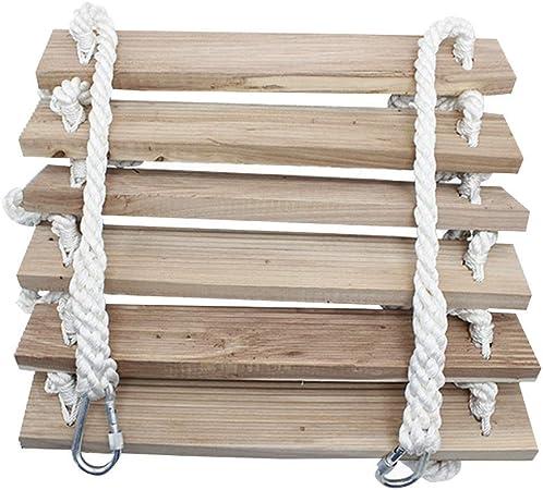 Escalera de Cuerda de Escape de Incendios – Escalera de Seguridad de Emergencia Resistente al Fuego con Ganchos para Niños y Adultos Escapar de la Ventana y el Balcón,Peso del rodamiento 300kg,3m:
