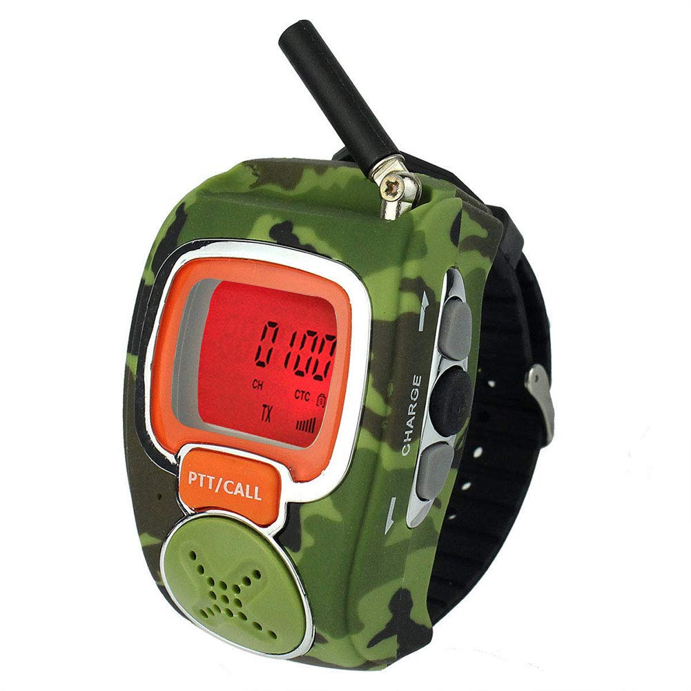 Walkie Talkie for Kids, Walkie Talkie for Kids Two-Way Long Range Watch Radio Transceiver Outdoor Interphone - Gifts for Boy and Girls(2pcs)