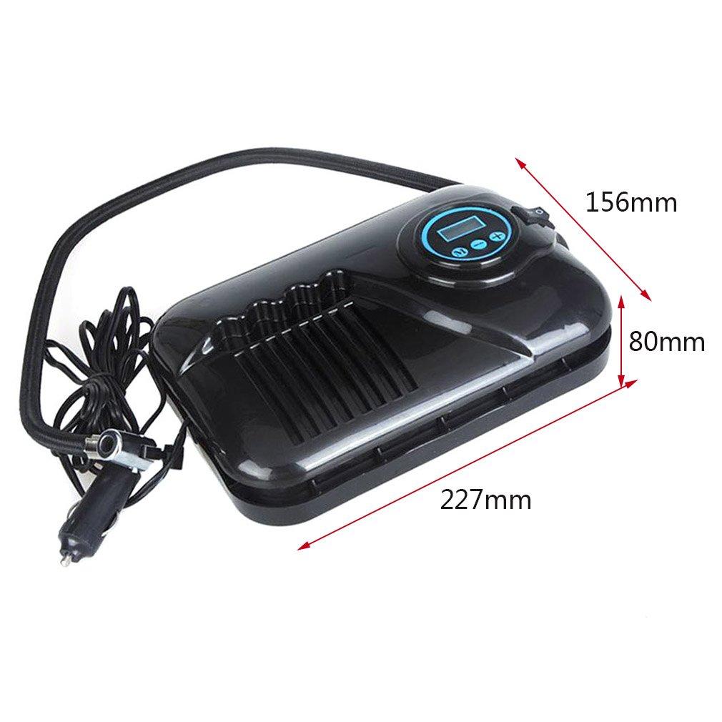 Cartkningts - Inflador de neumáticos portátil digital de 12 V DC compresor de aire eléctrico 250 PSI bomba de neumáticos de coche: Amazon.es: Coche y moto