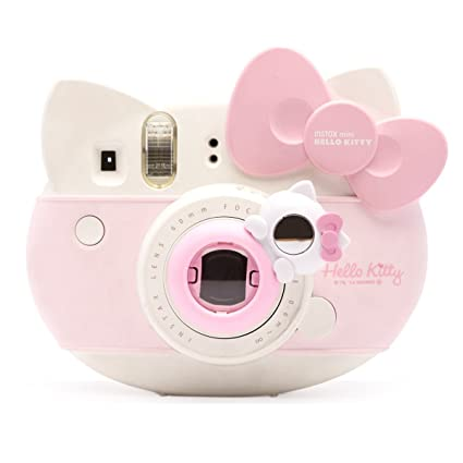 75c44dc5f Amazon.com: Lovely Kitty Selfie And Close Up Lens Shot Mirror For Fujifilm  Instax Mini 8 Mini 9 Polaroid PIC-300 Hellokitty Instant Camera (Pink Cat):  ...