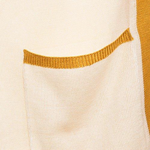 Donne Knit Basic Parfois Giallo Kimono qEPwTtx