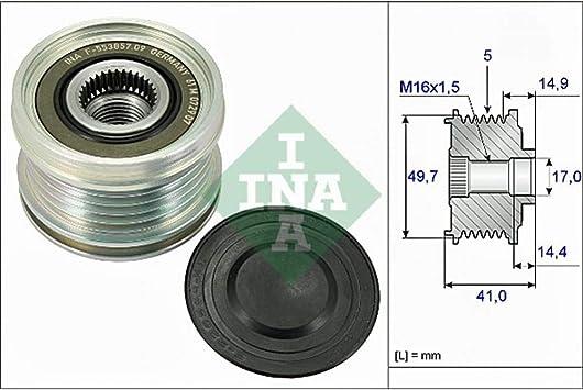 535 0084 10 Generatorfreilauf Freilauf Riemenscheibe Lichtmaschine INA
