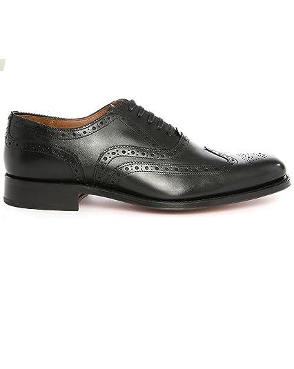 69d3291190a7 GRENSON - Dylan Shoe Black  Amazon.co.uk  Shoes   Bags