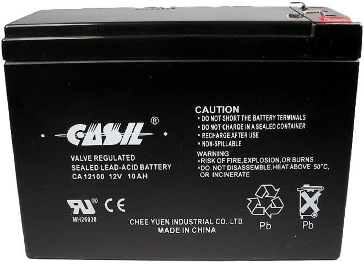 Casil CA12100 - Batería para bicicleta eléctrica SLA Currie ...