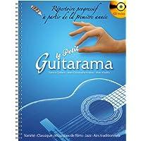 Partition classique HIT DIFFUSION LE PETIT GUITARAMA + CD Guitare