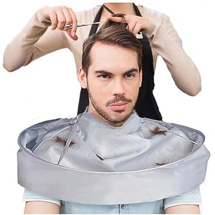Pochers® - Capa para corte de pelo tipo paraguas, para salones, peluquerías y