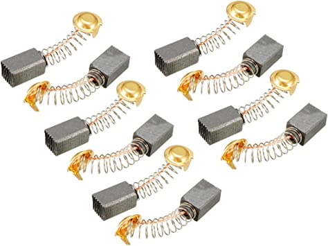 10 Pcs Set Motor Carbon Brush 30x11x6mm For Electric Motor Drill Bits
