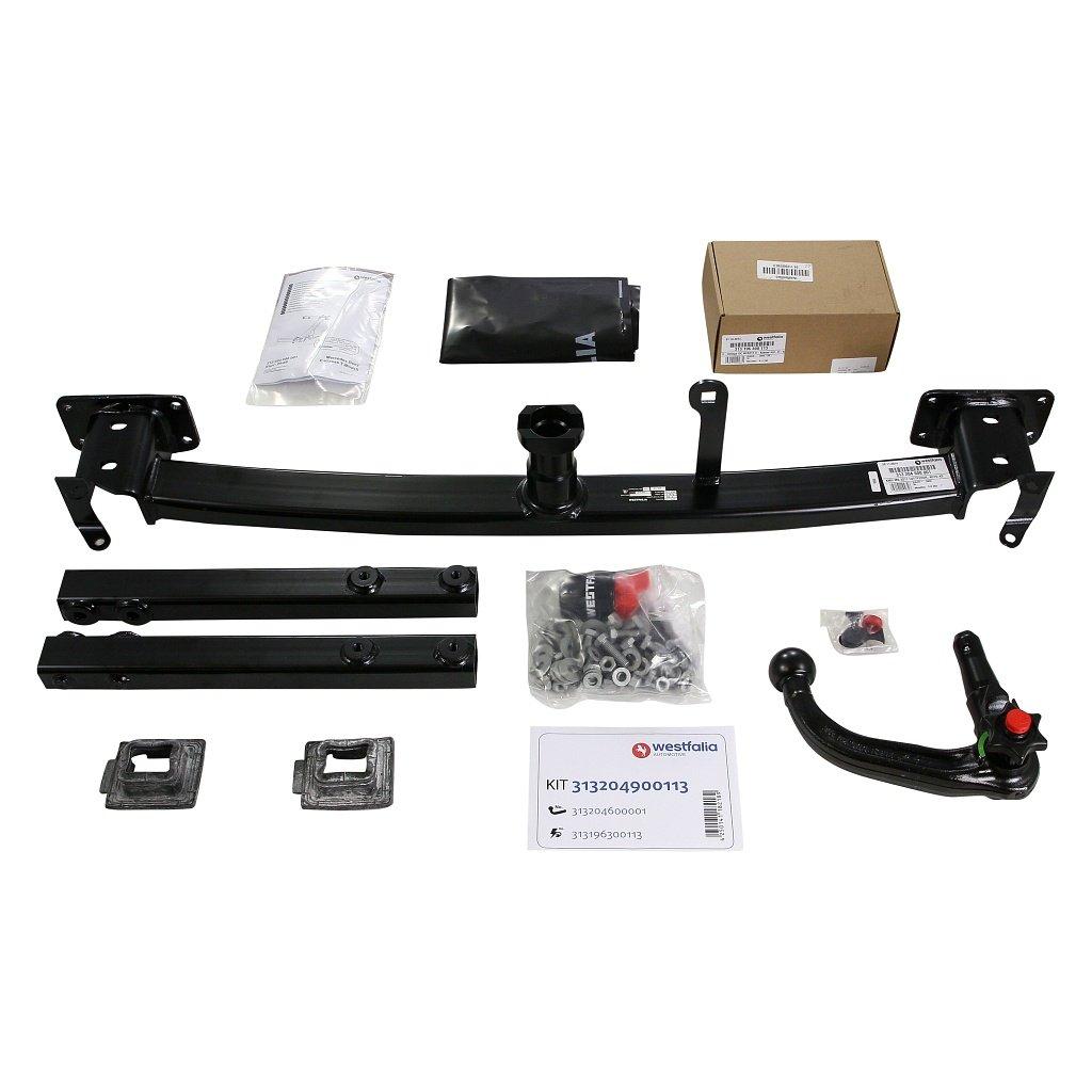 Westfalia 313204900113 Verticle Detachable Towbar Car Wiring Kit Instructions Motorbike